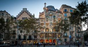 Casa Battló, Barcelona, Spain