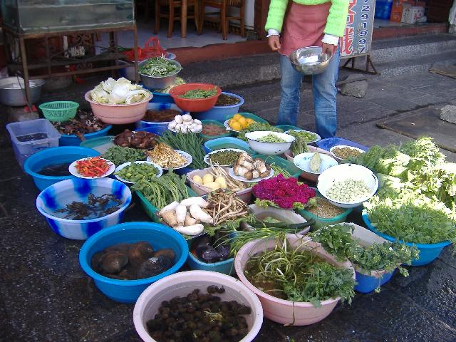 The Chinese can be assured the veggies are fresh