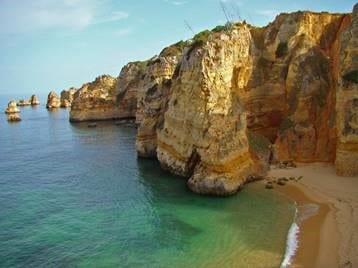 Cove beach, the Algarve