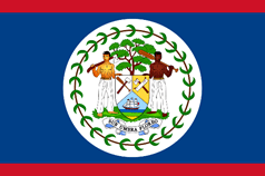 Belizean national flag