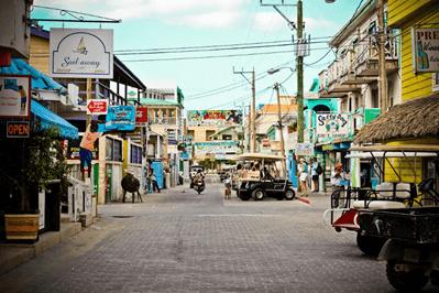 Main Street, San Pedro, Ambergris Caye