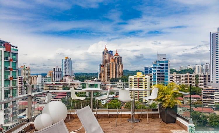 View of Panama City, Panama
