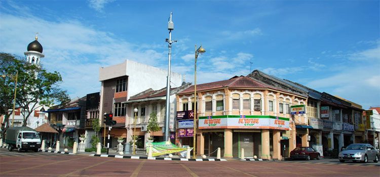 Shops in George Town Malaysia