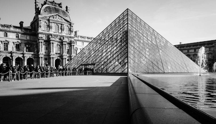 having the Louvre at your doorstep is one of the perks of living in Paris, France