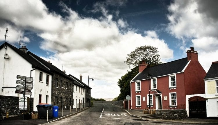 Waterford, Ireland City Street
