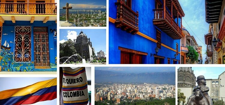Collage of Colombia Images