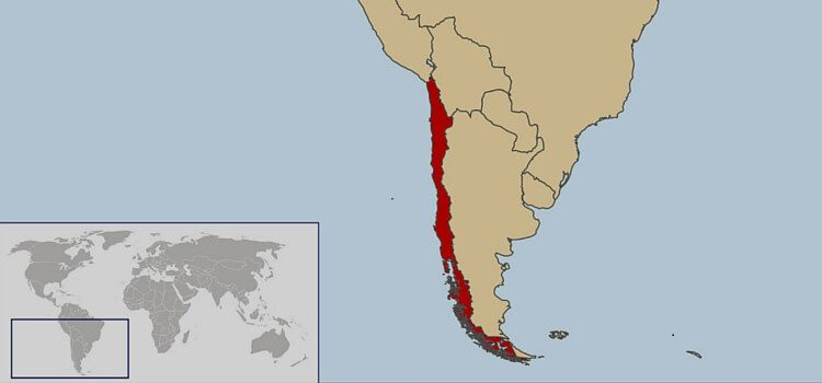 Map Of Chile Where Is Chile Located - Map of chile