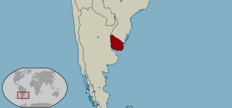 Map Of Uruguay Where Is Uruguay Located - Map of uruguay