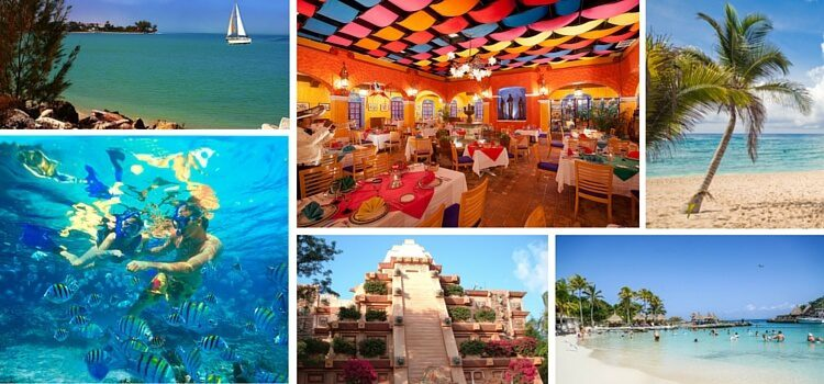 Collage of images from Mexico