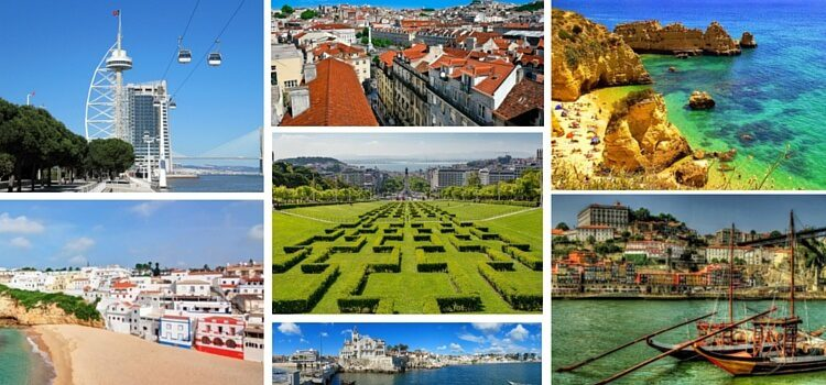 Collage of Portugal Photos