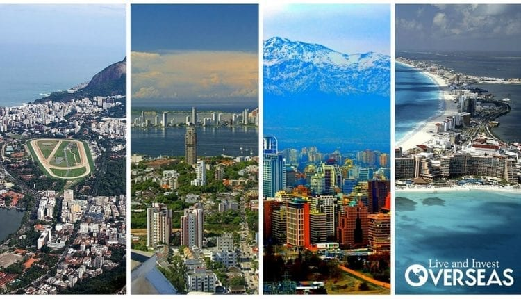 Here we cover four property markets that are riding the strong dollar and offer discounted real estate. These include; Mexico, Colombia, Chile, and Brazil.