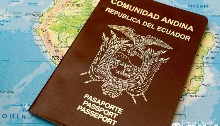 Citizenship Passport Ecuador Residency Program