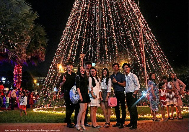 christmas celebration phnom penh