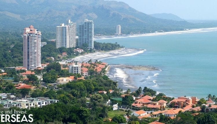 View of Panama City's beach areas