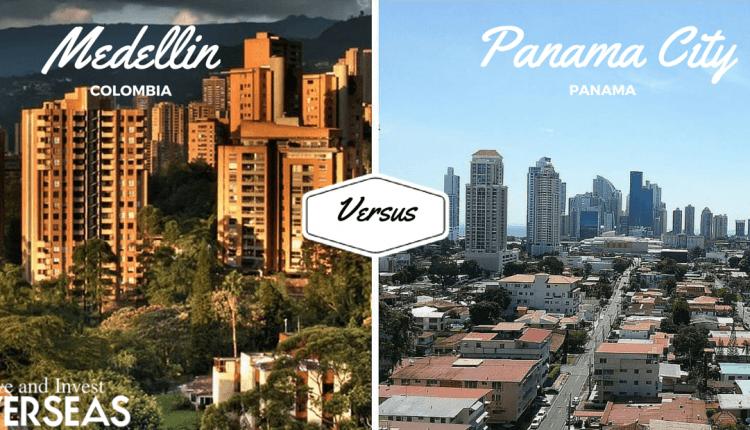 Medellin and Panama City