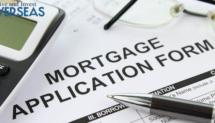 mortgage application for financing a property purchase overseas