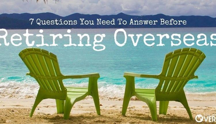 Retiring overseas to the beach
