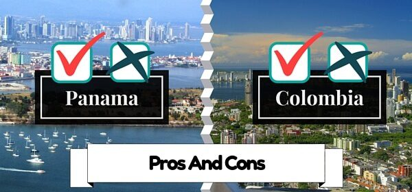 Panama And Colombia Pros and Cons