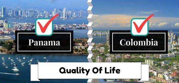 Panama And Colombia Quality of life