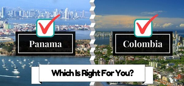 Panama And Colombia: which is Right for you