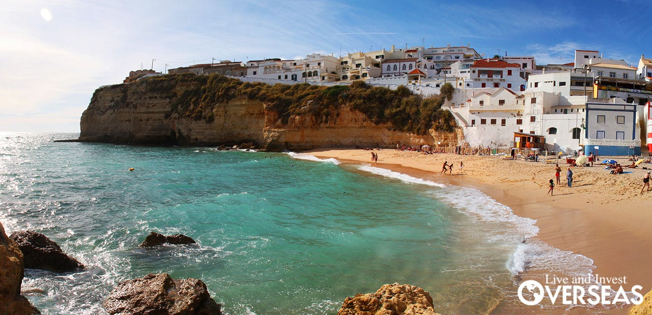 Carvoeiro Beach Is A Top Algarve Beach