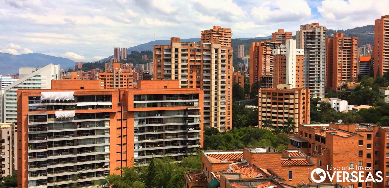 El Poblado, Medellin Skyline