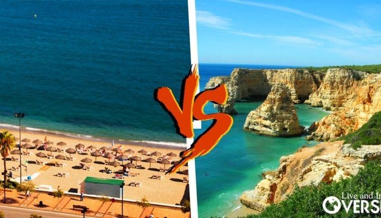 Comparison between property prices in algarve, portugal and Costa del Sol, Spain