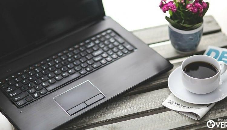 Running an online business from a laptop