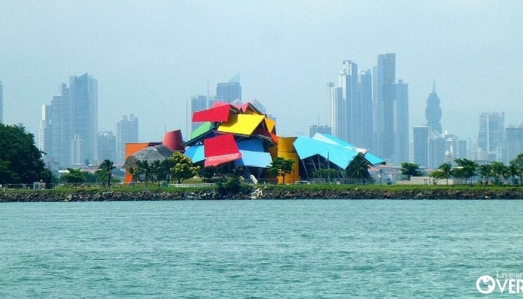 The Biomuseo, located in Panama City, Panama.