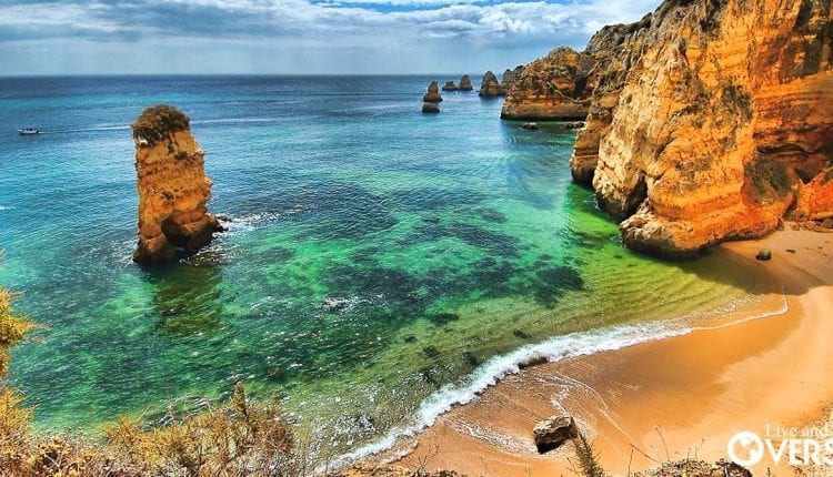 The vistas from The Algarve's beaches are nothing short of spectacular.