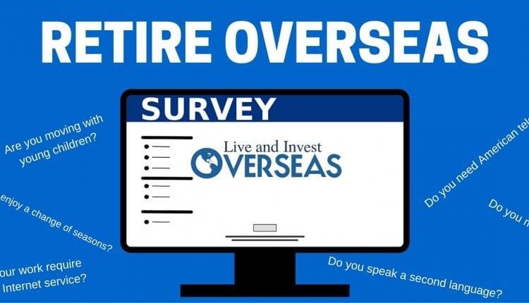 Survey on retiring overseas
