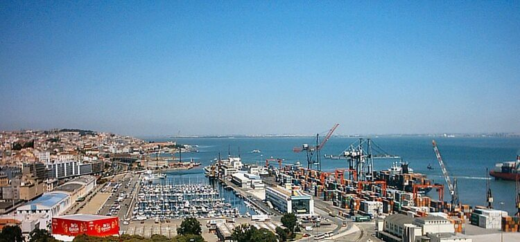 Economic activity at Portugal's port