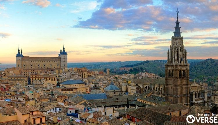 The Old World Charm you can find in places like Toledo make life in Spain a great idea.