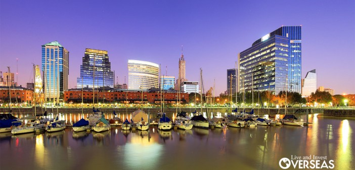 The Top 20 Countries For Investing In Real Estate Today Include Buenos Aires and other regions all over the world.