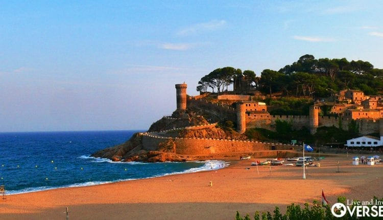 Spain qualifies overall as a great destination for buying property overseas. - Tossa de Mar, Catalonia