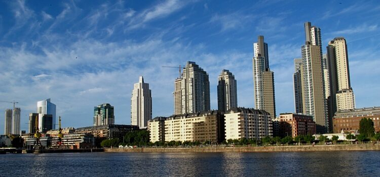 Business District of Buenos Aires, Argentina