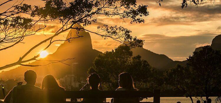 A sunny day in Rio de Janeiro, Brazil.