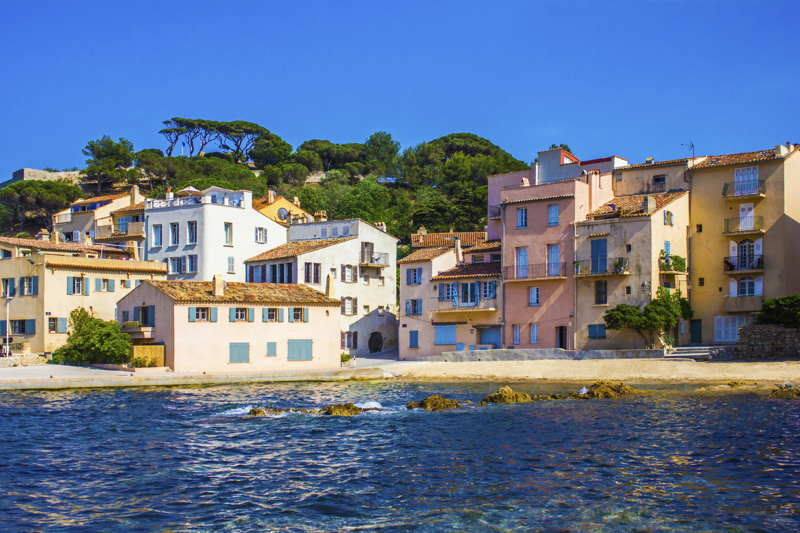 real estate by the sea in france