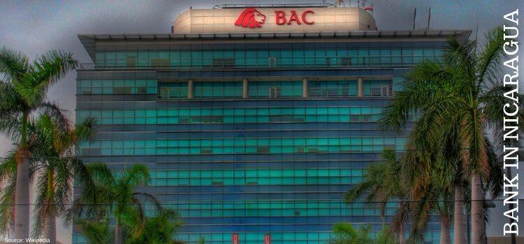BAC Bank in Managua, Nicaragua
