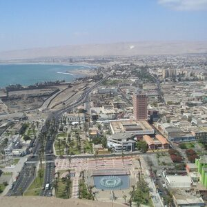 Cityview of Arica, Chile