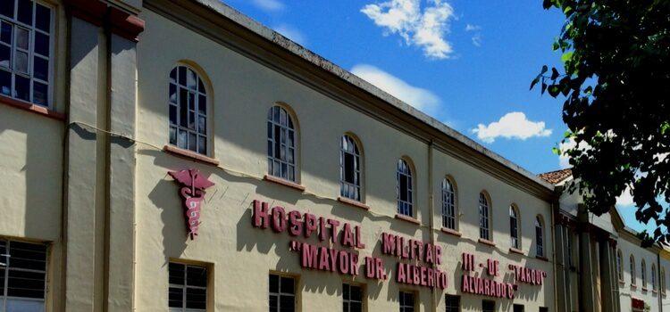The Mayor Dr. Alberto Alvarado Military Hospital in Ecuador.