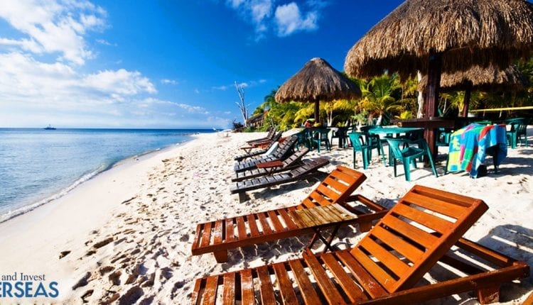 One of the most beautiful beaches on the earth, Cancun, Mexico