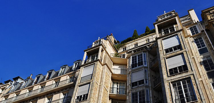 apartment buildings in france