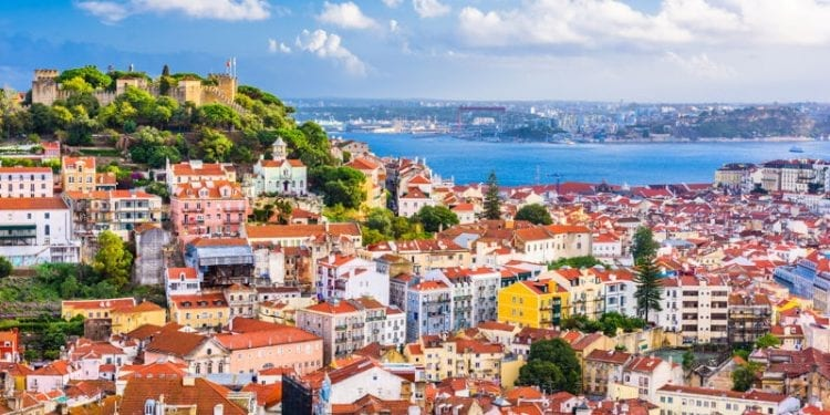 Panoramic view of Lisbon, Portugal. The Cheapest Places To Live Well