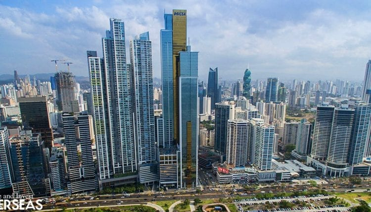 Panama's tall skyscrapers