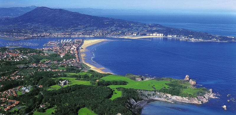 You can have the French Basque in all its glory in Hendaye, France.