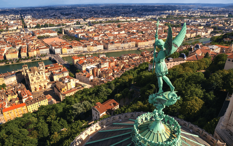 We crossed Lyon off the list quickly because of its cold winter weather.
