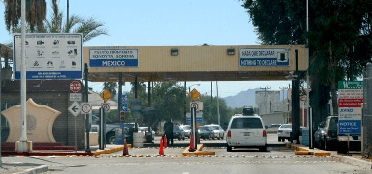 Mexico Border Crossing