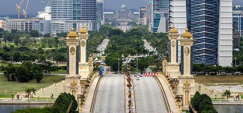 View Of a Major Road in Kuala Lumpur