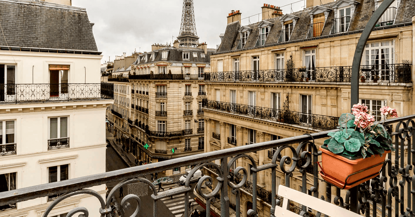 paris property prices rise and fall but in the end it's still paris